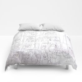 Angry Teacher Comforters