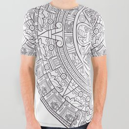 Sun Stone All Over Graphic Tee