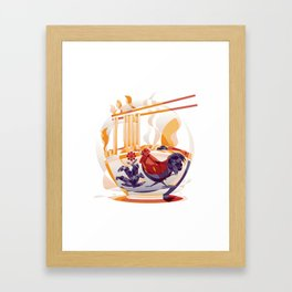 Mie Ayam Framed Art Print