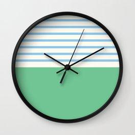 Narrabeen Stripe Wall Clock