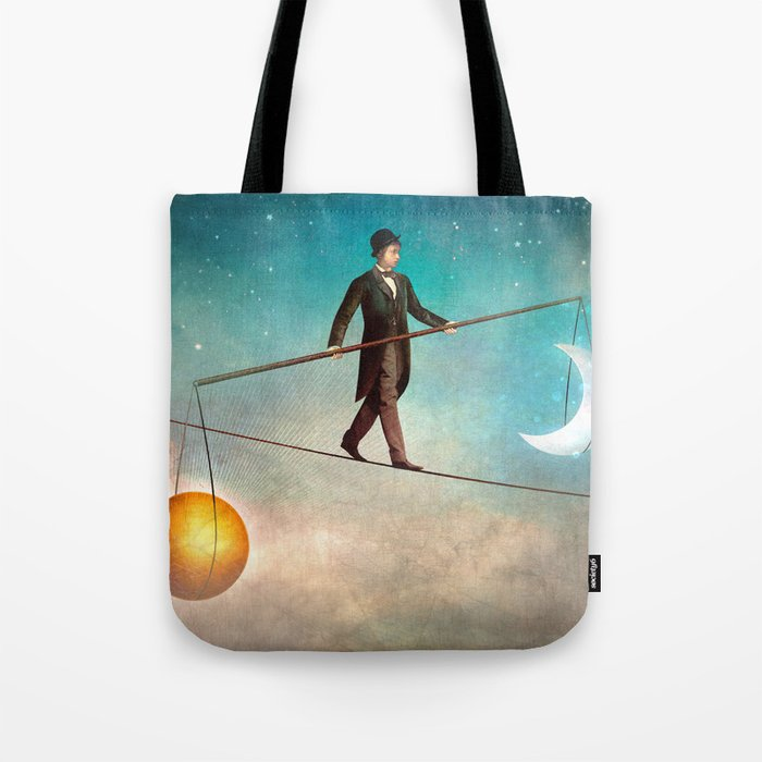 Between Night and Day Tote Bag
