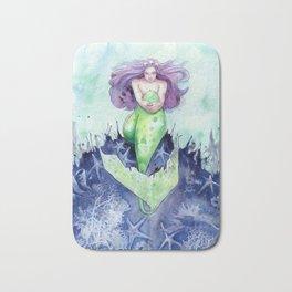Reef Mermaid Bath Mat