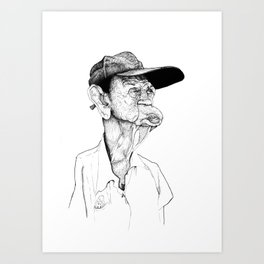 Neckflab Art Print