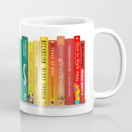 Rainbow Books Coffee Mug