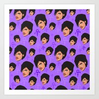 MY NAME IS PRINCE. Art Print