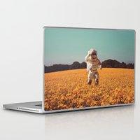 hello Laptop & iPad Skins featuring Hello by @slimesunday