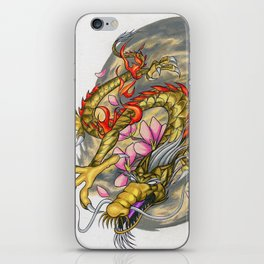 Warp Dragon iPhone Skin