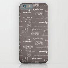 Life on a Chalkboard Slim Case iPhone 6s