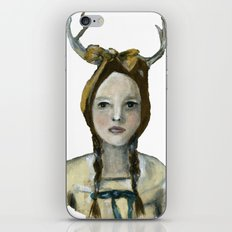 Woodland Girl II iPhone Skin