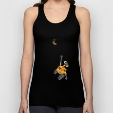 Pixar/Disney Wall-e Hang in There Unisex Tank Top