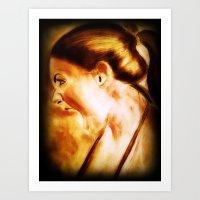 scream Art Prints featuring scream by Gaetano Pergamo Art & Design