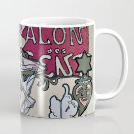 March April 1896 20th Salon des 100 Art Expo Paris France Coffee Mug