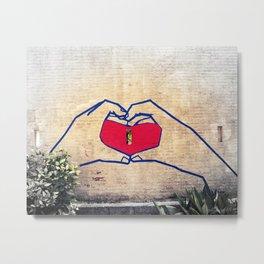 Love (edited) Metal Print