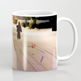 Snow Road Coffee Mug