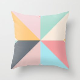 Geometric Pattern II Throw Pillow