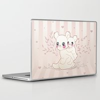 kawaii Laptop & iPad Skins featuring Kawaii by Lily Art