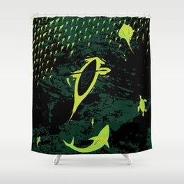 Bioluminescent Bay, Vieques, PR Shower Curtain
