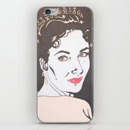 Elizabeth Taylor iPhone Skin
