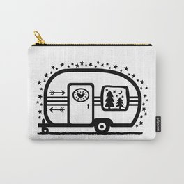 Home Is Where We Roam Rv Camper Road Trip Carry-All Pouch