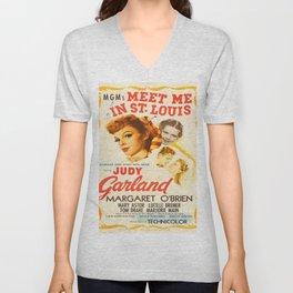 Vintage poster - Meet Me in St. Louis Unisex V-Neck