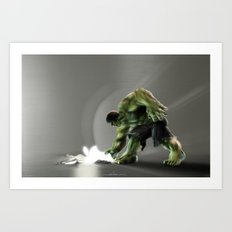 Puny Apple..... Art Print