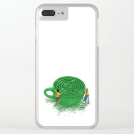 Find Ur Flavor Clear iPhone Case