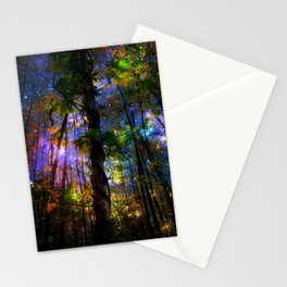 Forest of the Fairies Night Stationery Cards