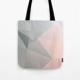 Dora 2 / Poster, scandinavian, art, art print, geometric, pastel, low poly, Christmas, drawings Tote Bag