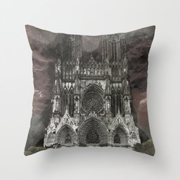 Cathedral Storm Throw Pillow
