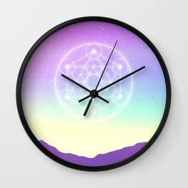 Sacred Geometry (Sacred Merkaba) Wall Clock