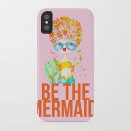 pink lemonade -- be the mermaid. iPhone Case