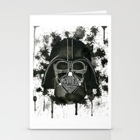 dark side Stationery Cards featuring Dark side by Gilles Bosquet