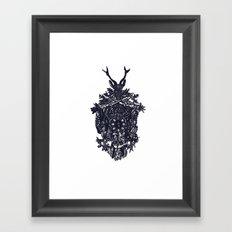 Clockwork Framed Art Print