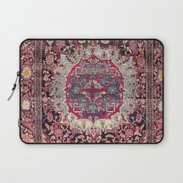 Esfahan  Antique Persian Rug Print Laptop Sleeve