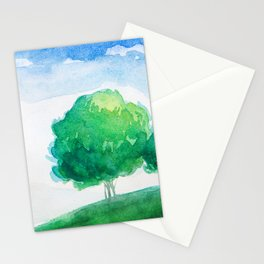 Mountain scenery 4 Stationery Cards