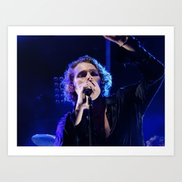 Meet You There Tour Lead Singer Art Print