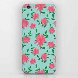 Ginger flowers iPhone Skin