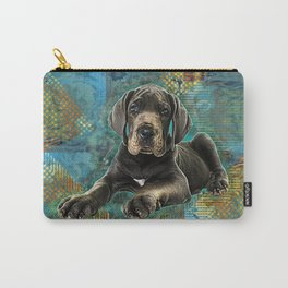 Great Dane Puppy Carry-All Pouch