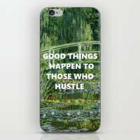 steelers iPhone & iPod Skins featuring Noll's Water Lilies  by ArikaDoe