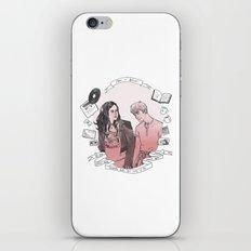 Rae + Finn iPhone & iPod Skin