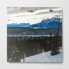 On route to Brule Alberta, Canada Metal Print