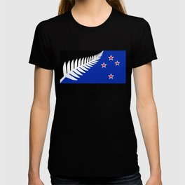 Proposed new national flag design for New Zealand T-shirt