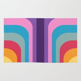 Retro Rainbow 02 Rug