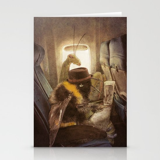 Flight of the Bumblebee Stationery Cards
