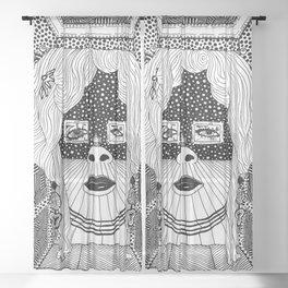 Salvador Dalí - Mae West Sheer Curtain