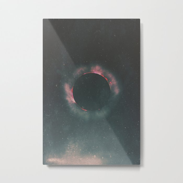The Dark Sun Metal Print