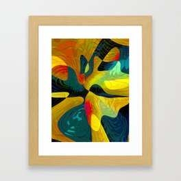 Birth of a Butterfly Framed Art Print