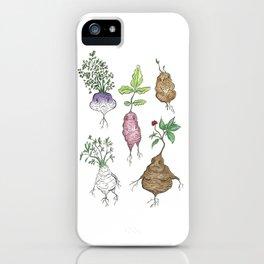 Root Veggies iPhone Case