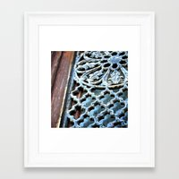 victorian Framed Art Prints featuring VICTORIAN by Katherson