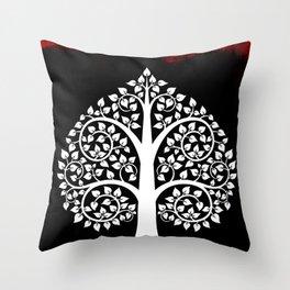 Bodhi Tree0106 Throw Pillow